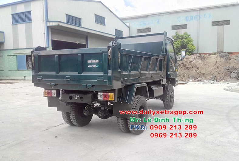 Xe Ben ChienThang 3.48 Tấn 2 Cầu | Xe Ben ChienThang 3T48 | Ben ChienThang 3.48 | LE DINH THANG | 0909213289