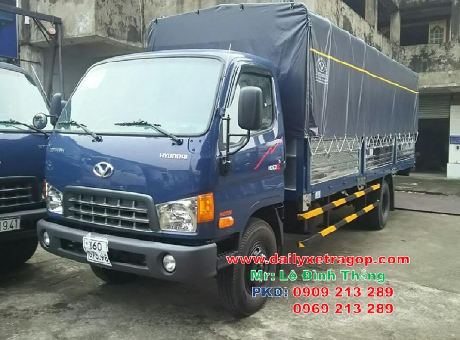 Xe Tải ĐÔ THÀNH MIGHTY HD120SL 8 Tấn | Xe HYUNDAI 8 Tấn | Xe Hyundai 8 Tấn Thùng 6m