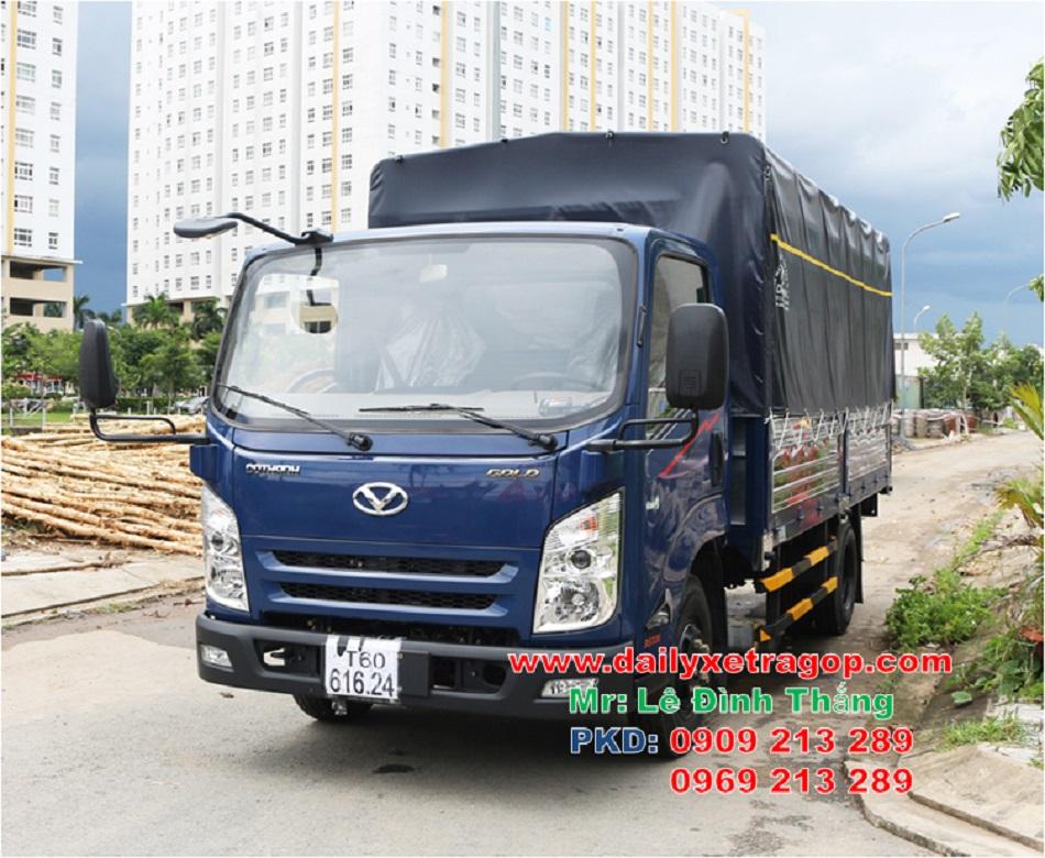 Xe Tải DOTHANH IZ65 - 3.49 Tấn - Thùng Lững - Thùng Bạt - Thùng Kín | Xe DOTHANH IZ65 |