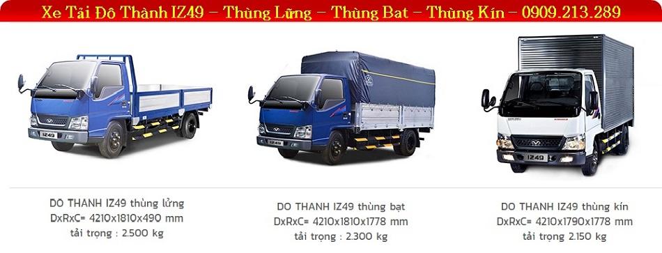 Xe tải HYUNDAI IZ49 2.4 Tấn | Xe HYUNDAI 2T4 | 0909213289 Mr Thắng