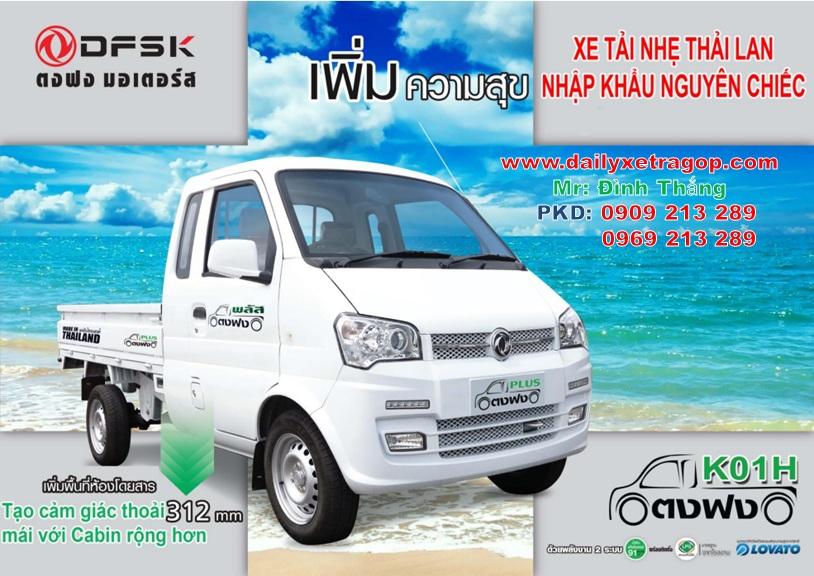 Xe tai thai lan 850kg | xe thai lan 850kg | xe 850kg | le dinh thang | 0909213289