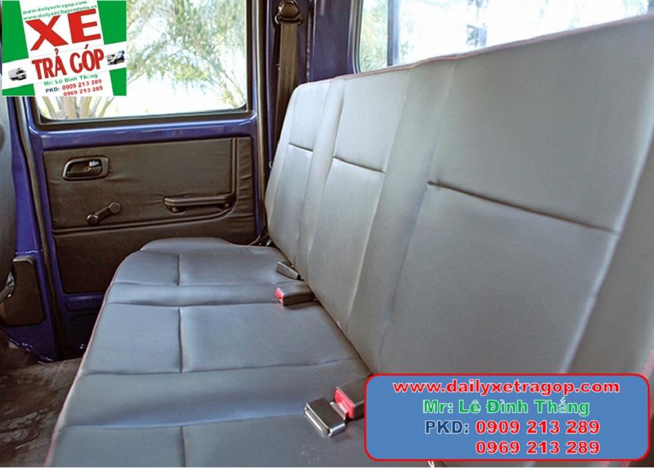 Xe Trường Giang T3 Cabin Kép 810 Kg Thùng Lững | Xe Trường Giang CaBin Đôi 810kg | Xe T3 Cabin Đôi 5 chổ | 0909213289