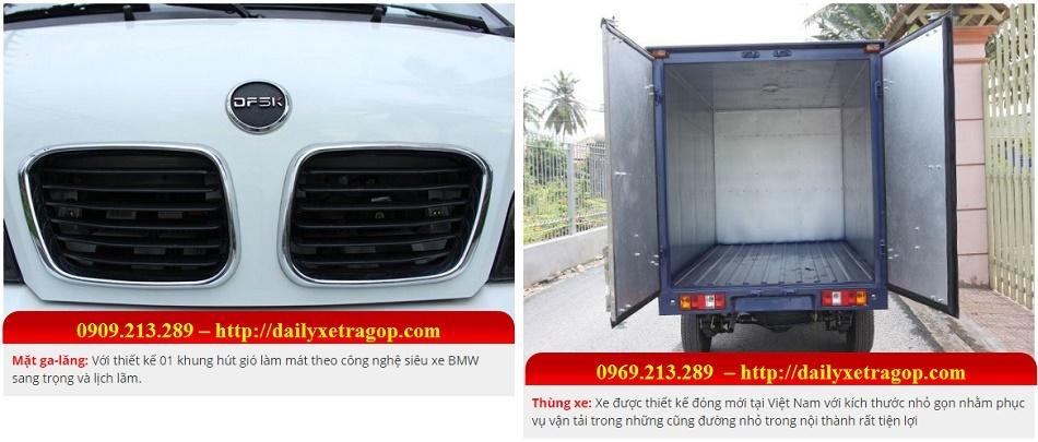 Xe Tải Thái Lan DFSK 860kg Thùng Kín | Xe Tải Thái Lan DFSK 860kg Thùng Kín | Xe DFSK Thùng Kín | Xe Thái Lan 860kg | 0909213289