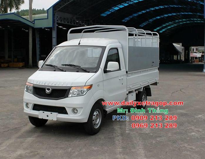 xe tải kebo 990kg, Xe kenbo 990kg, thang 0909213289