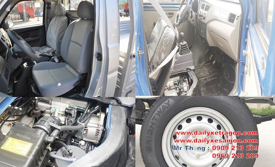 Xe Tải DONGBEN T30 450Kg Thùng Bán Hàng Lưu Động